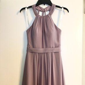Azazie Misha Long Dress in Wisteria